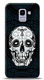 Samsung Galaxy J6 Black Skull Kılıf