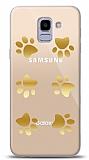 Samsung Galaxy J6 Gold Patiler Kılıf