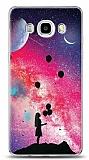Samsung Galaxy J7 2016 Moon Girl Resimli Kılıf