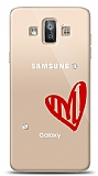 Samsung Galaxy J7 Duo 3 Taş Love Kılıf
