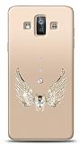 Samsung Galaxy J7 Duo Angel Death Taşlı Kılıf