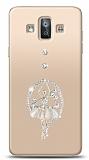 Samsung Galaxy J7 Duo Balerin Taşlı Kılıf