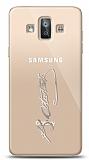 Samsung Galaxy J7 Duo Silver Atatürk İmza Kılıf