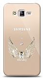Samsung Galaxy J7 / Galaxy J7 Core Angel Death Taşlı Kılıf