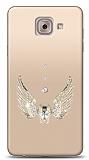 Samsung Galaxy J7 Max Angel Death Taşlı Kılıf