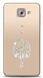 Samsung Galaxy J7 Max Balerin Taşlı Kılıf
