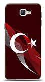 Samsung Galaxy J7 Prime Bayrak Çizgiler Kılıf