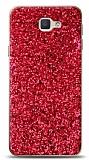 Samsung Galaxy J7 Prime / J7 Prime 2 Pullu Kırmızı Silikon Kılıf