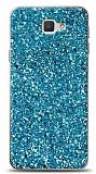 Samsung Galaxy J7 Prime / J7 Prime 2 Pullu Mavi Silikon Kılıf
