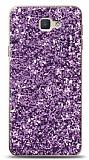Samsung Galaxy J7 Prime / J7 Prime 2 Pullu Mor Silikon Kılıf