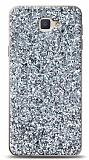 Samsung Galaxy J7 Prime / J7 Prime 2 Pullu Silver Silikon Kılıf