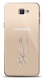 Samsung Galaxy J7 Prime / J7 Prime 2 Silver Atatürk İmza Kılıf