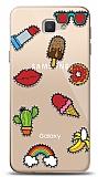 Samsung Galaxy J7 Prime / J7 Prime 2 Stickers Resimli Kılıf