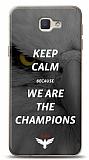 Samsung Galaxy J7 Prime Keep Calm Kartal Kılıf