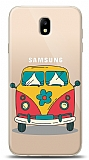 Samsung Galaxy J7 Pro 2017 Retro Minibus Resimli Kılıf