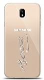 Samsung Galaxy J7 Pro 2017 Silver Atatürk İmza Kılıf