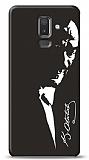 Samsung Galaxy J8 Atatürk Silüet Kılıf
