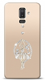 Samsung Galaxy J8 Balerin Taşlı Kılıf