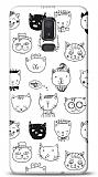 Samsung Galaxy J8 Cats Resimli Kılıf