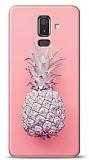 Samsung Galaxy J8 Pink Ananas Kılıf
