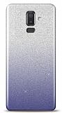 Samsung Galaxy J8 Simli Siyah Silikon Kılıf