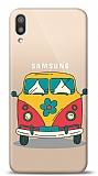 Samsung Galaxy M10 Retro Minibus Resimli Kılıf