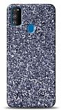 Samsung Galaxy M31 Pullu Gri Silikon Kılıf