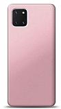 Samsung Galaxy Note 10 Lite Rose Gold Mat Silikon Kılıf