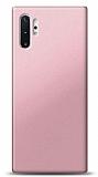 Samsung Galaxy Note 10 Plus Rose Gold Mat Silikon Kılıf