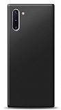 Samsung Galaxy Note 10 Siyah Mat Silikon Kılıf