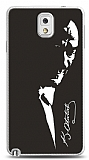 Samsung Galaxy Note 3 Atatürk Silüet Kılıf