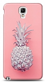 Samsung Galaxy Note 3 Neo Pink Ananas Kılıf