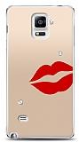 Samsung Galaxy Note 4 3 Taş Dudak Kılıf