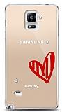 Samsung Galaxy Note 4 3 Taş Love Kılıf
