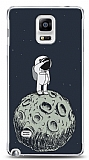 Samsung Galaxy Note 4 Astronot Resimli Kılıf
