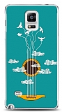 Samsung Galaxy Note 4 Cloud Guitar Kılıf