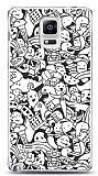 Samsung Galaxy Note 4 Karikalar Resimli Kılıf
