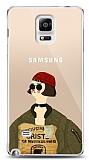 Samsung Galaxy Note 4 Leon Mathilda Resimli Kılıf