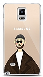 Samsung Galaxy Note 4 Leon Resimli Kılıf