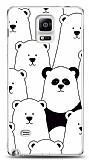 Samsung Galaxy Note 4 Lonely Panda Resimli Kılıf