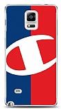 Samsung Galaxy Note 4 Şampiyon Resimli Kılıf