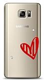 Samsung Galaxy Note 5 3 Taş Love Kılıf