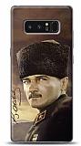 Samsung Galaxy Note 8 Asker Atatürk Kılıf