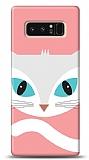 Samsung Galaxy Note 8 Big Face Cat Kılıf