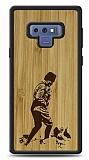 Samsung Galaxy Note 9 Atatürk Silüet Ahşap Kılıf