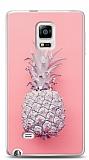 Samsung Galaxy Note Edge Pink Ananas Kılıf