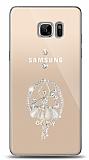 Samsung Galaxy Note FE Balerin Taşlı Kılıf