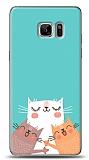 Samsung Galaxy Note FE Cat Family Kılıf