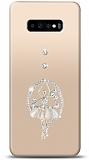 Samsung Galaxy S10 Balerin Taşlı Kılıf