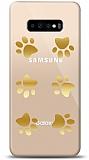 Samsung Galaxy S10 Gold Patiler Kılıf